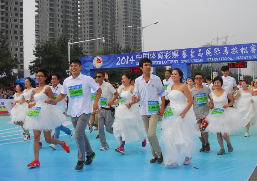 将马拉松赛打造成秦皇岛市全民欢庆的盛宴.