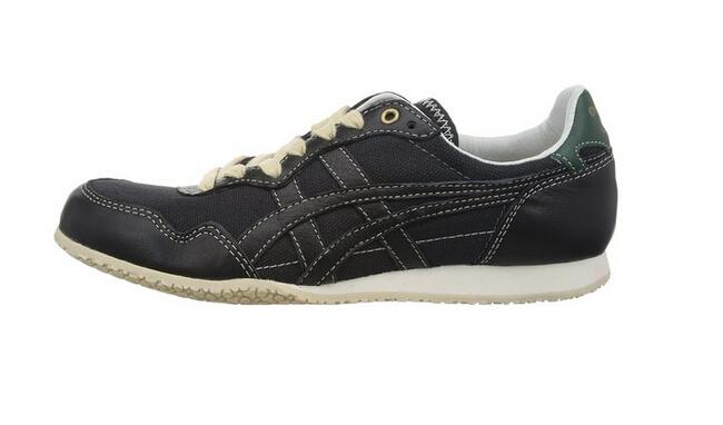 onitsuka tiger 65th纪念款serrano,保留了原型鞋的特征,前掌上翘型大