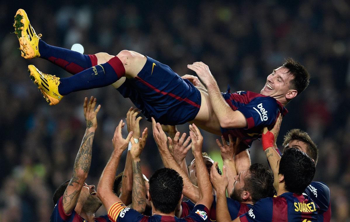 梅西登体育画报封面,讲述自己的足球故事 巴萨专区 虎扑足球论坛