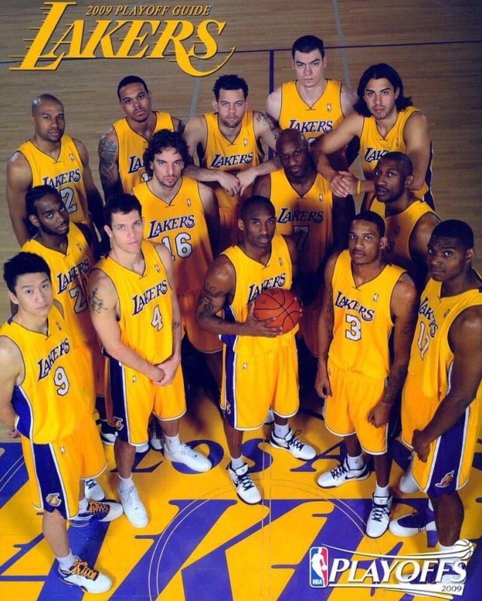 经典回顾!2009年洛杉矶湖人队冠军阵容