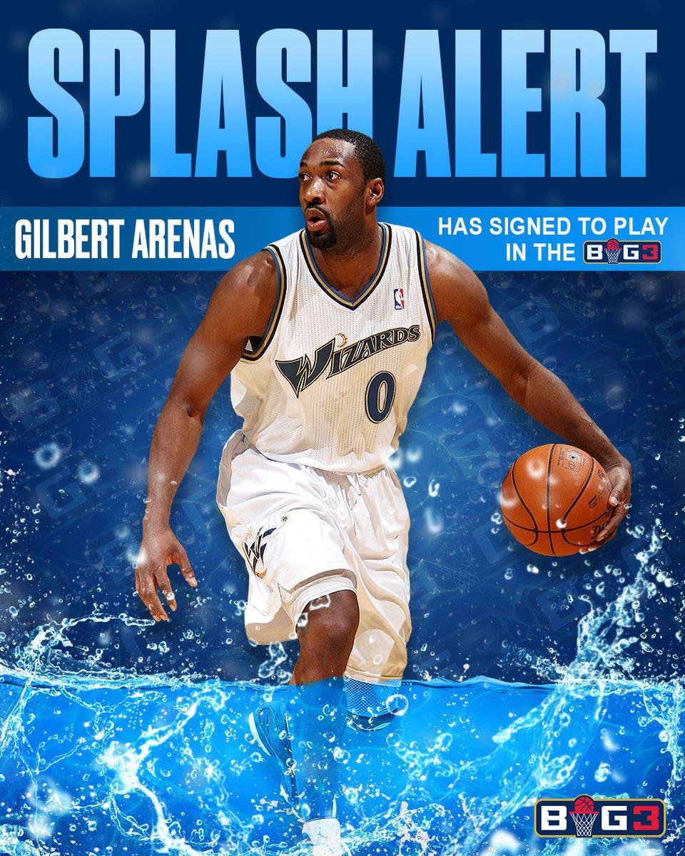 阿里纳斯加盟将于今夏举办的BIG3联赛 NBA新闻 第2张