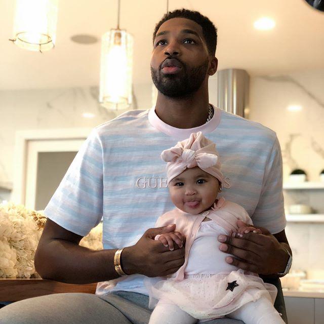 特里斯坦-汤普森晒与女儿合影并祝她生日快乐 NBA新闻 第6张