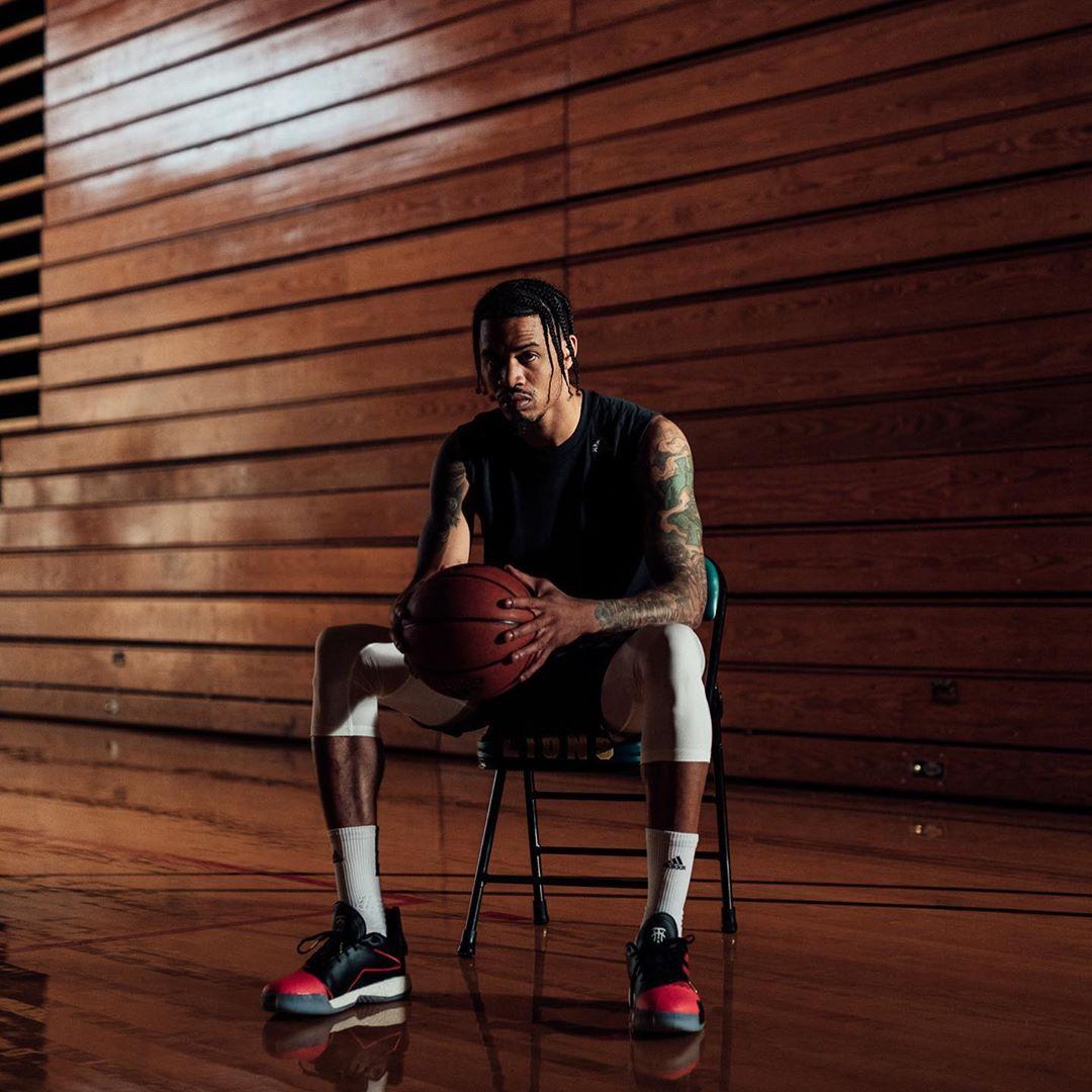 [虎]有范!杰拉德-格林发布自己的球场写真 NBA新闻 第8张