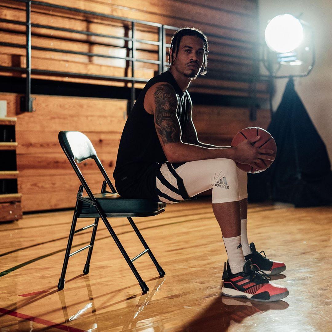 [虎]有范!杰拉德-格林发布自己的球场写真 NBA新闻 第6张