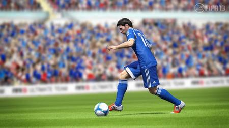 梅西身穿他的FIFA13全明星球衣,现在已经可以