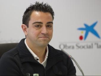 图片:哈维出席某西班牙银行举办的活动。(el9)