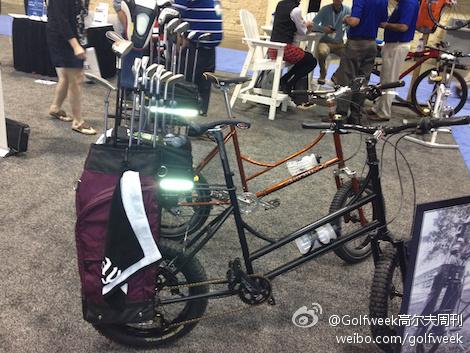 pga博览会发布新品:高尔夫自行车