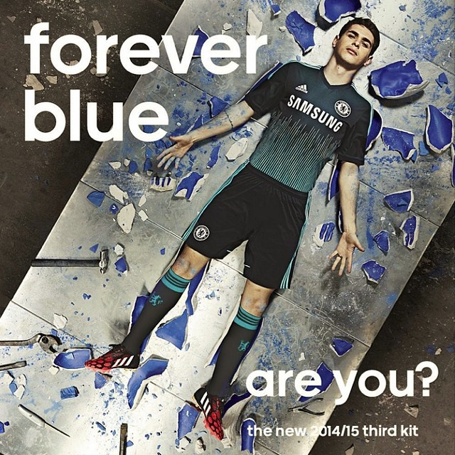 2014-15新球衣!#allinCFC #ComeOnChelsea