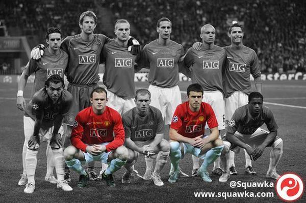 曼联2008年欧冠决赛首发,如.图片