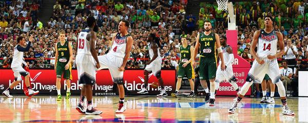 2014年西班牙篮球世界杯决赛.