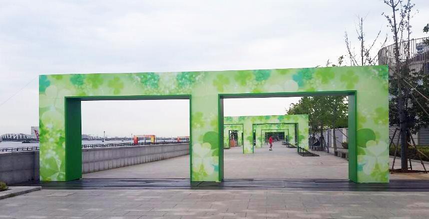 中国最美跑步赛道开始搭建