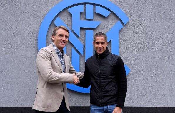 国米宣布西尔维尼奥成为曼奇尼助理教练