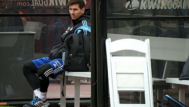 阿根廷主帅:梅西的脚照样很疼
