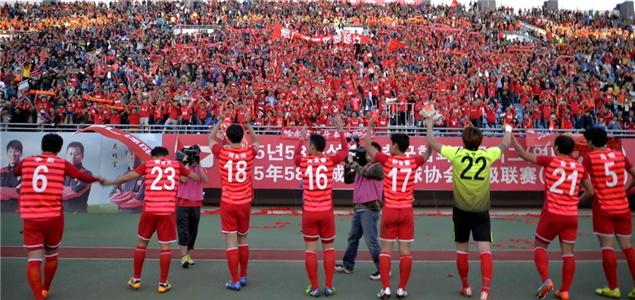 2015赛季中国足球甲级联赛第