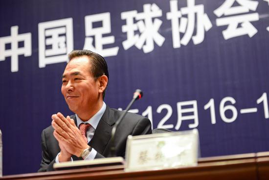 蔡振华:理解球迷不满,会制定国脚奖励政策