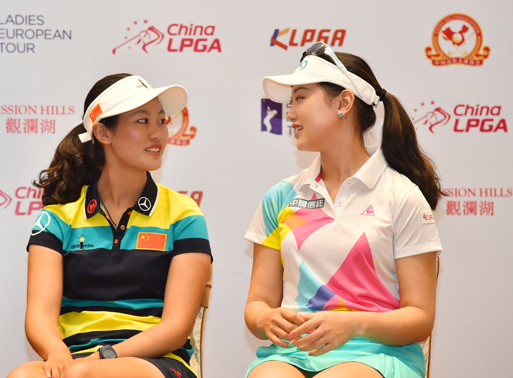 2016年观澜湖女子世界高尔夫锦标赛开幕