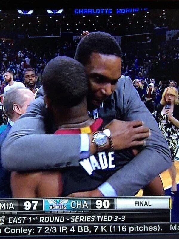 Bosh:Wade就是我的英雄!