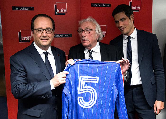 法国总统为国家队出征欧洲杯加油鼓劲