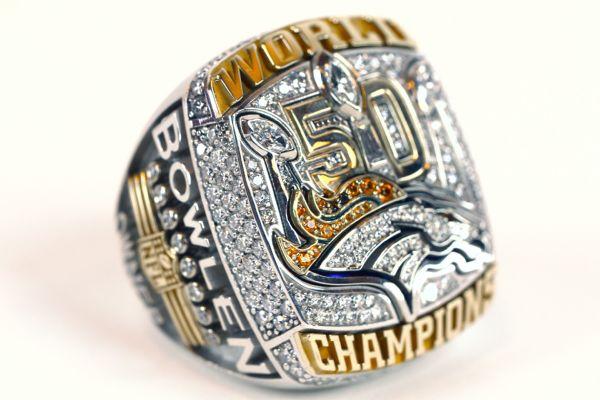 丹佛野马全队得到超级碗冠军戒指