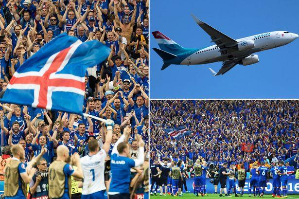冰岛球迷租波音737前往法国观看欧洲杯