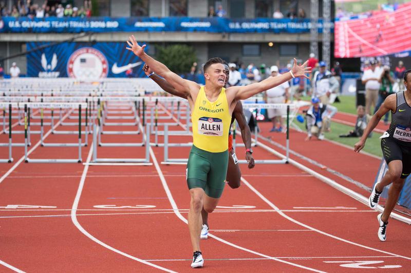 俄勒冈大学外接手艾伦入选美国奥运会代表队