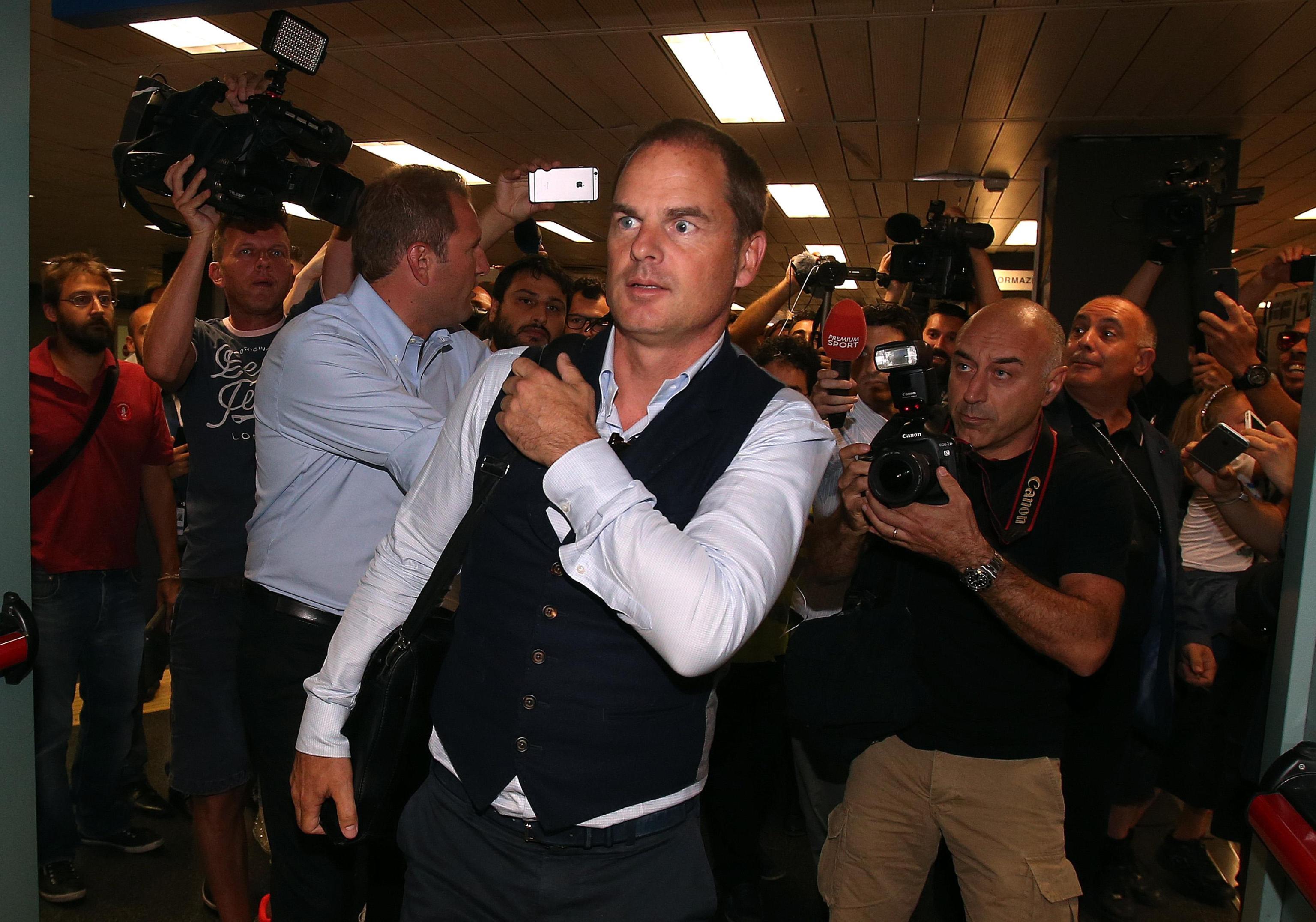 德波尔抵达米兰城:很高兴能够来到国米