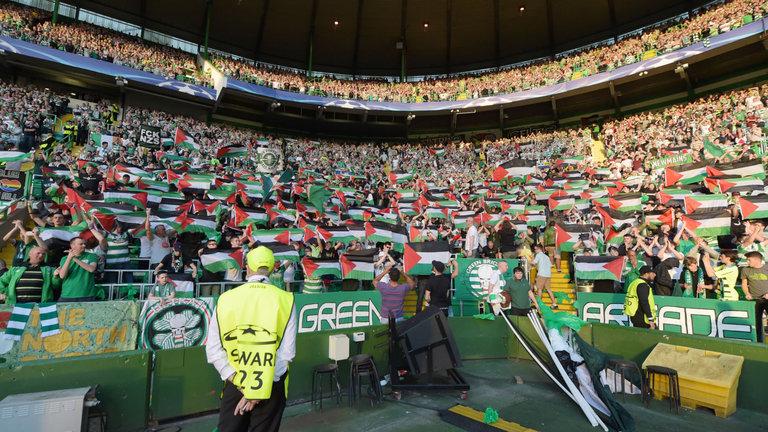 凯尔特人或因国旗事件遭到欧足联处罚