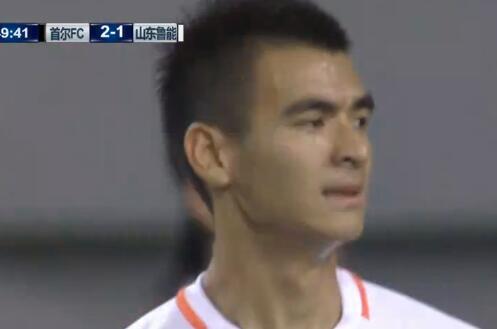 GIF:刘彬彬戴琳两连击,鲁能进攻掀高潮