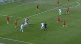 亚青赛:杨立瑜半空门打偏,国青0-0乌兹别克