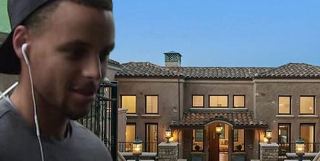 Stephen Curry 掛牌出售其奧克蘭核桃溪的豪宅
