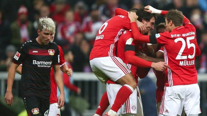 拜仁vs药厂赛后评分:胡梅尔斯莱诺高分