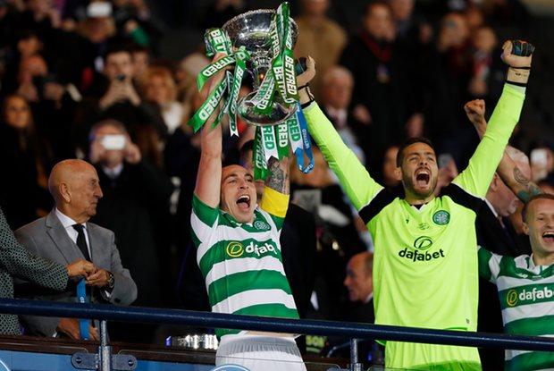 队史第100冠!凯尔特人力夺苏格兰联赛杯