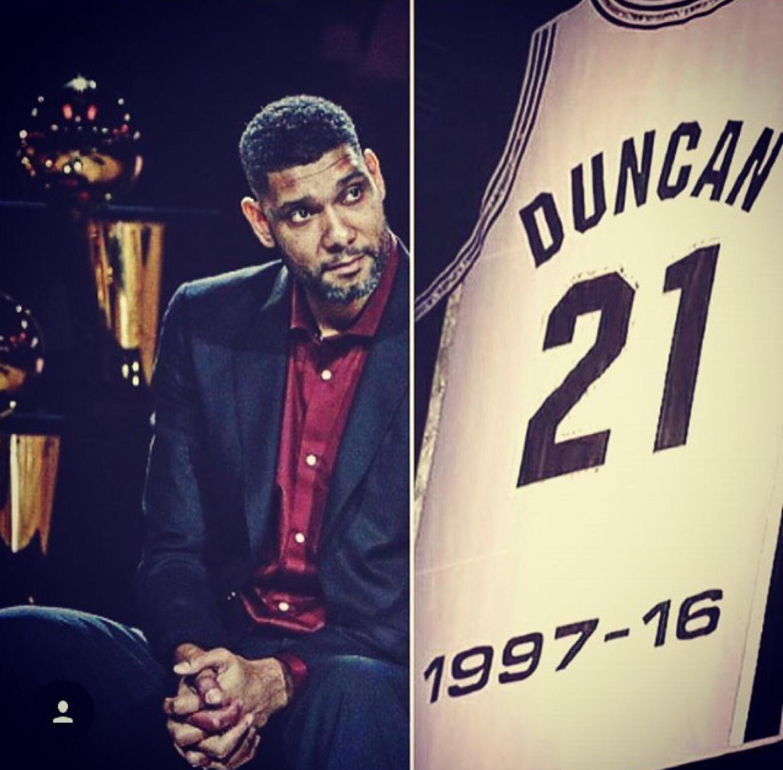 Chris Paul社交媒體發圖祝賀Tim Duncan