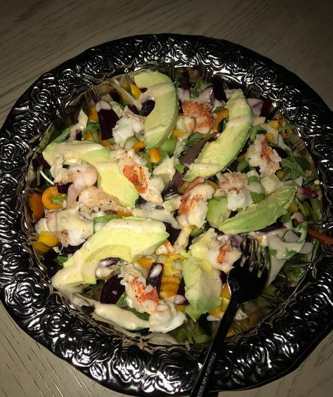 JaVale McGee曬美食:龍蝦沙拉