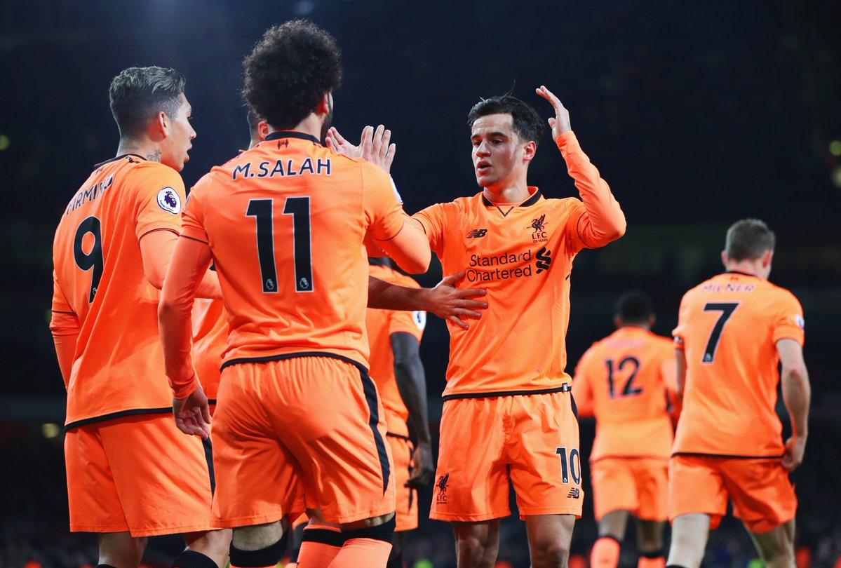 gif:菲尔米诺破门,利物浦3-3阿森纳_虎扑国际足球新闻