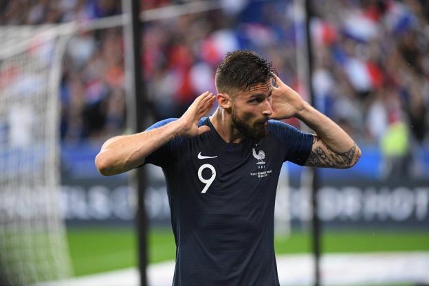 天王盖地虎!吉鲁追平齐达内在法国队31球进球数字