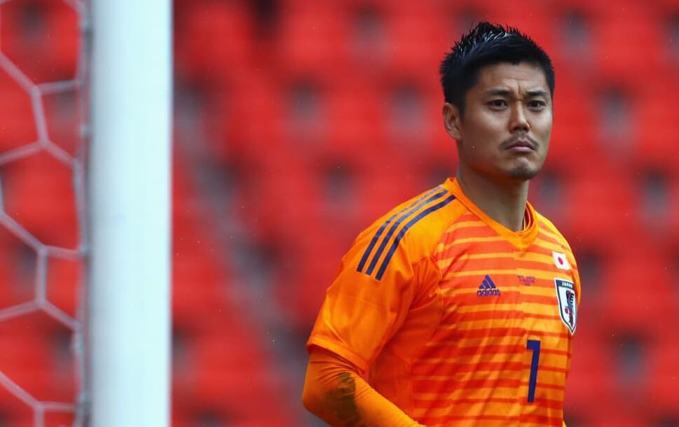今天上午,日本门将川岛永嗣接受了国际足联的采访,这位35岁的日本国门