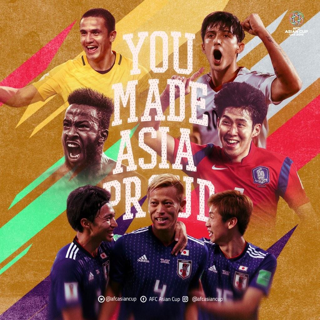 亚足联发布海报点赞五支世界杯参赛队:你们让亚洲骄傲