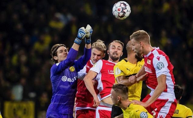 30,德国杯第2轮,多特蒙德主场迎战德乙球队柏林联合.图片