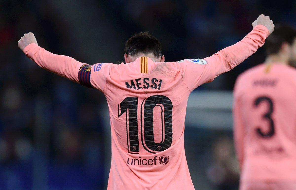 梅西近4年直接任意球得分19次,超越五大联赛所有球队