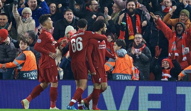 欧冠:萨拉赫破门,利物浦1-0力压那不勒斯晋级