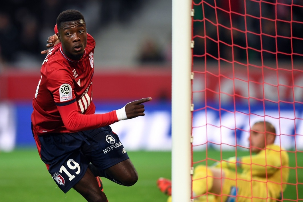 法媒:里尔为前锋尼古拉斯-佩佩标价8000万欧