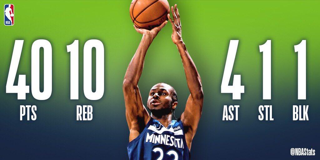NBA官方评选今日最佳数据:威金斯40+10+4当选