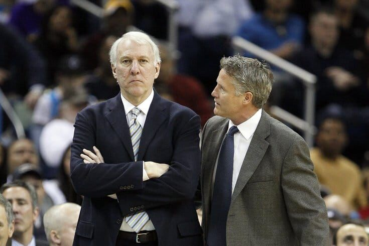 波波维奇:布朗说我是史上最佳教练?他真能胡扯