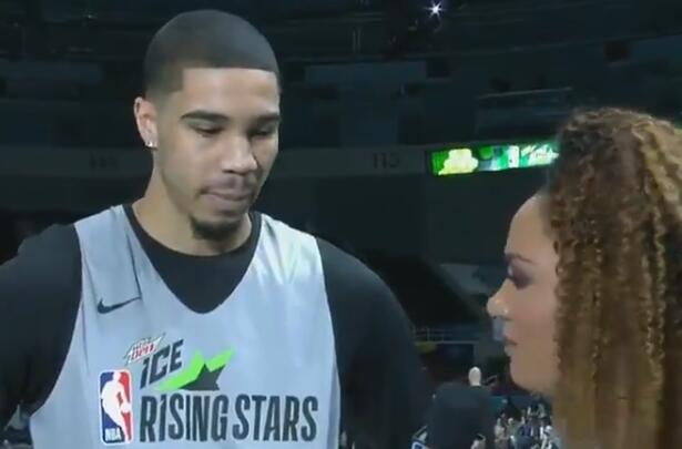 塔特姆:最喜欢扣篮大赛,已经等不及了