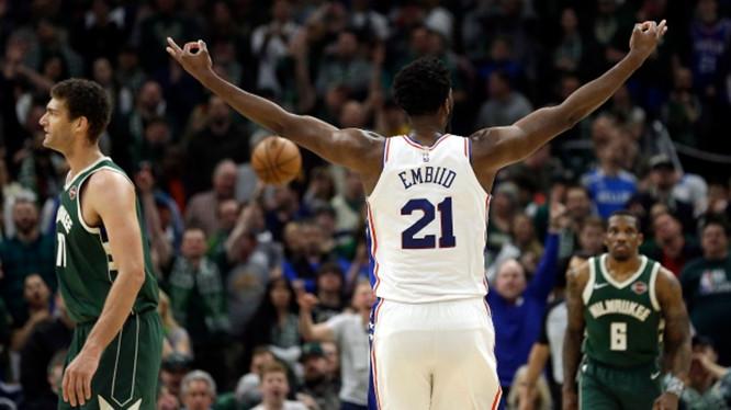 恩比德:就战绩来说,雄鹿现在是NBA最好的球队