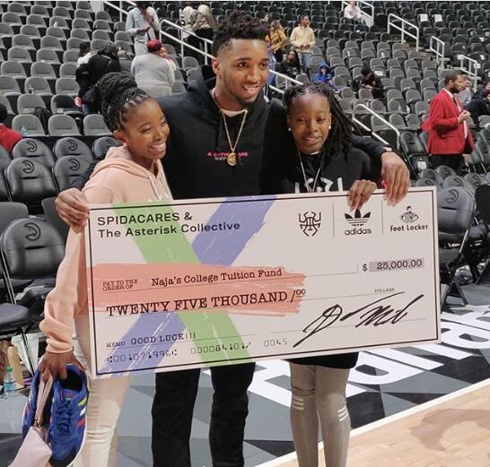 米切尔给自己4年级时老师的女儿提供25000美元奖学金