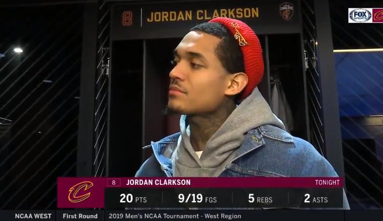 克拉克森:我们每个人都热爱篮球,特别是我