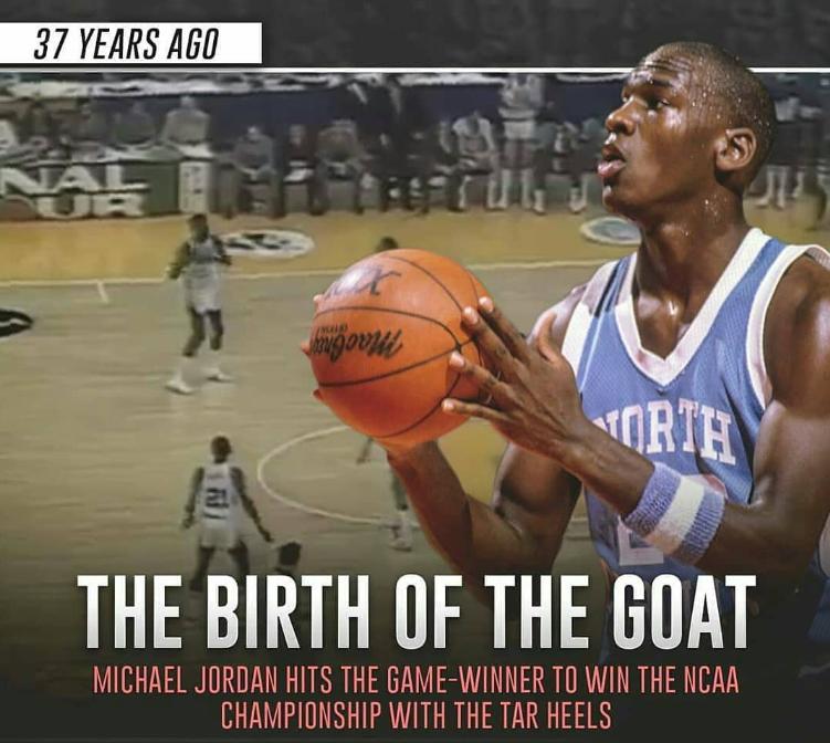 37年前的今天:乔丹NCAA总决赛献致命绝杀
