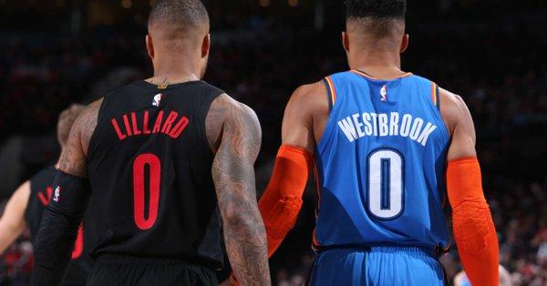 利拉德谈与威少对位:我们彼此知根知底,比赛会很精彩 NBA新闻